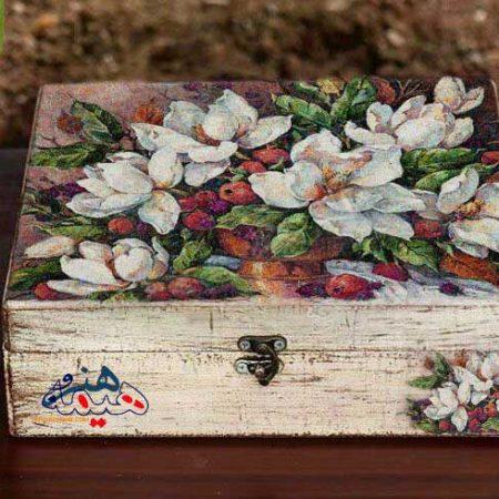 صندوقچه جواهر چوبی