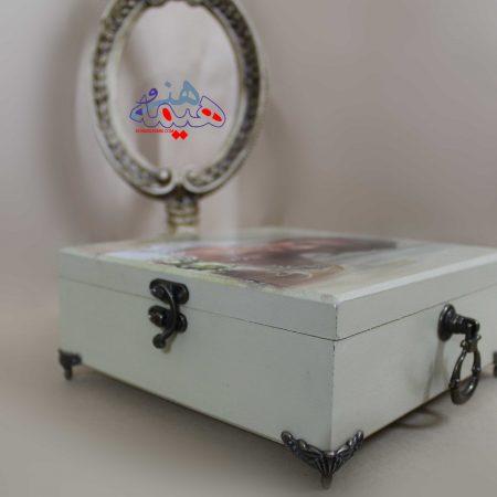 صندوقچه شیری طرح عروس نمای کلی