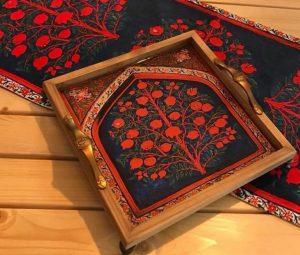 سینی چوبی کادویی شب یلدا